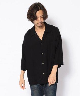 bukht/ブフト/オープンカラーシャツ