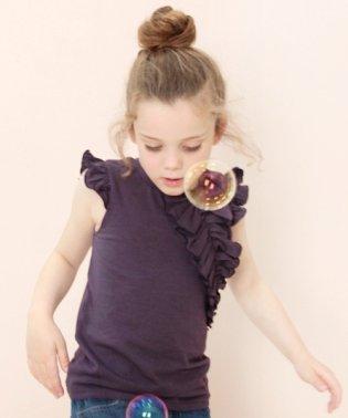 リズム フリルtシャツ(2color)