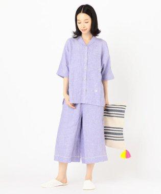 VILLOND(ヴィヨン):リネン半袖パジャマ WOMENS