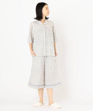 VILLOND(ヴィヨン):フラワープリント半袖パジャマ WOMENS