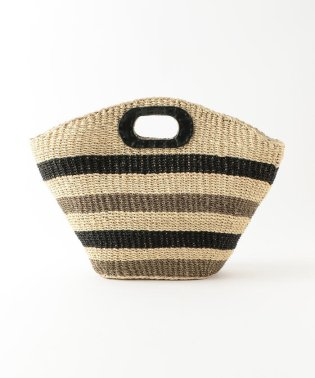 【CACHELLIE】ABACA BORDER TOTE