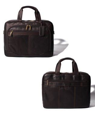 【SAMSONITE】COLOMBIAN LEATHER TOPLOADER