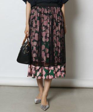 GRANDTABLE(グランターブル) チュールフラワースカート