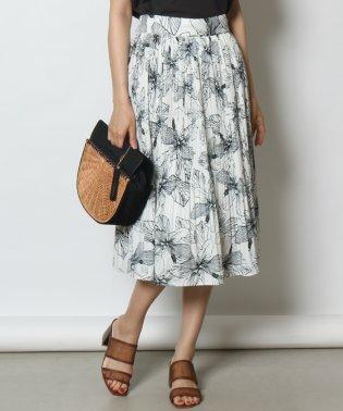Petit Poudre(プチ・プードル) ボタニカルプリーツスカート