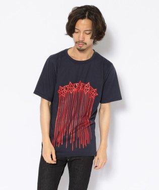 ANTIART/アンチアート/ロングドリップスターTシャツ