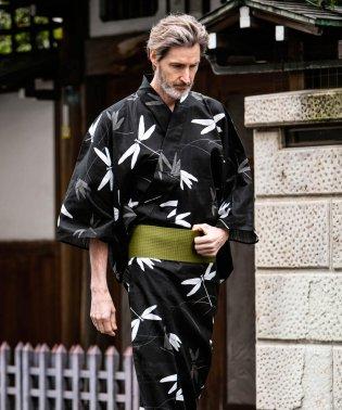 AKM Contemporary(エイケイエムコンテンポラリー) とんぼ柄 浴衣&角帯SET