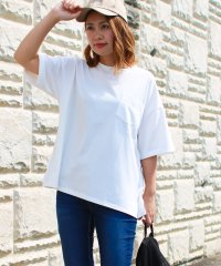 smileバック刺繍ビッグTシャツ