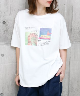 ホログラムフォトTシャツ