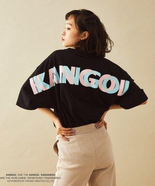 【KANGOL】別注BIG TEE