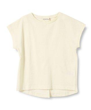 【プチプラ】後スリット半袖Tシャツ(90~150cm)