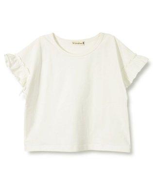【プチプラ】袖フリル半袖Tシャツ(90~150cm)
