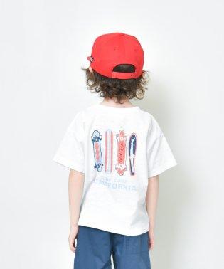 【プチプラ】バックプリント半袖Tシャツ(90~140cm)