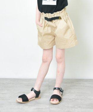 【プチプラ】ベルト付ショートパンツ(90~140cm)