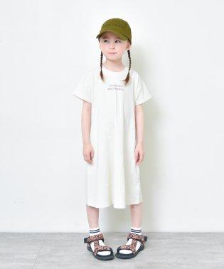 【プチプラ】Aラインワンピース(90~140cm)