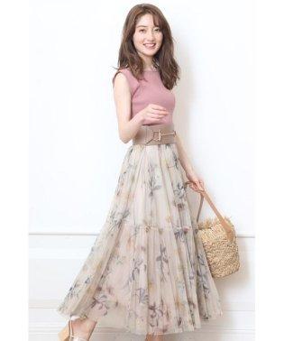 【VERY9月号掲載】プリーツボリューム切替スカート