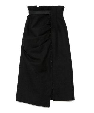 ドレープデザインタイトスカート