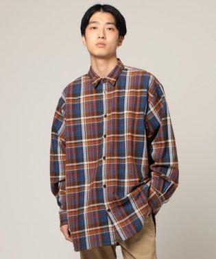 BEAMS / イージー チェックシャツ
