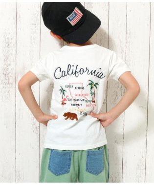 CALIFORNIA刺繍TEE