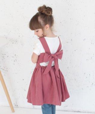 チェルシー エプロン ドレス(2color)