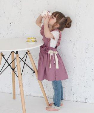 コジー エプロン ドレス(2color)