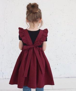 ミンゴ エプロン ドレス(2color)