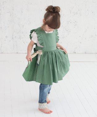 ジャミー エプロン ドレス(2color)