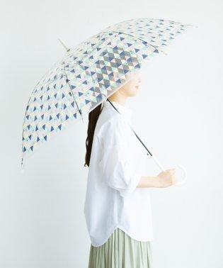 Wpc. 透明傘もかわいくいたい プラスティックアンブレラ サカナチェック
