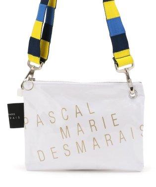 PASCAL MARIE DESMARAIS/パスカル マリエ デマレ/PVCショルダーバッグ