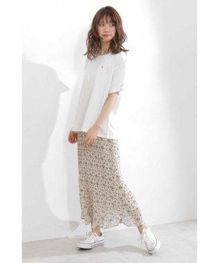 《EDIT COLOGN》フラワーミニプリーツスカート