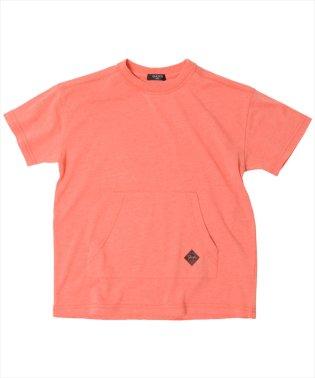 ドロップショルダーポケット半袖Tシャツ