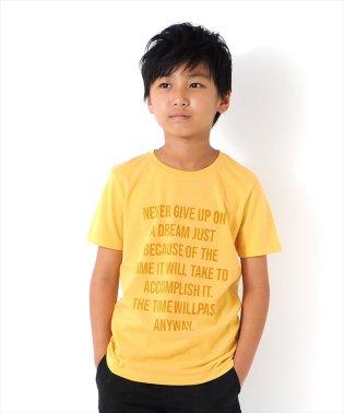 メッセージロゴ半袖Tシャツ