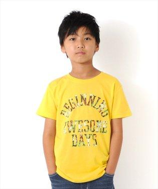 ボタニカルロゴ半袖Tシャツ