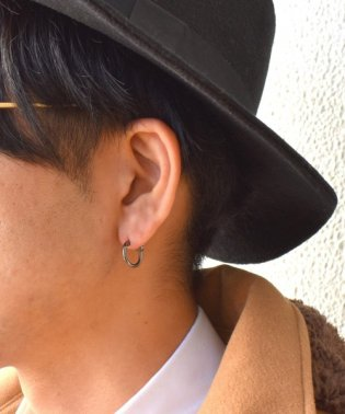 LH for Gift プレーンフープピアス