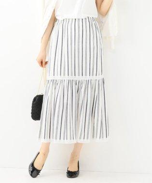ドビーストライプマキシスカート