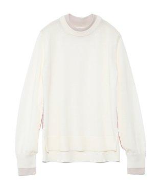 ツートーンセーター