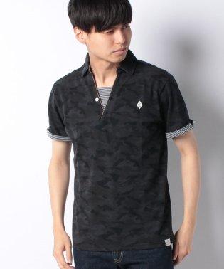 カノコ カモフラ柄 ポロシャツ