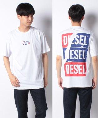 DIESEL(apparel) 00SDMQ 0EADQ 100 T-SHIRTS