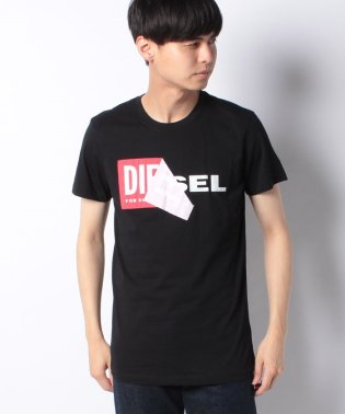 DIESEL(apparel) 00S02X 0091B 900 T-SHIRTS