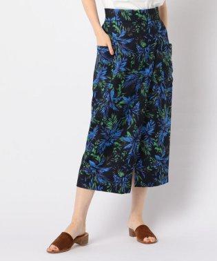 ポケ付きラップミディ丈スカート