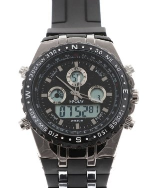 【HPFS】アナデジ アナログ&デジタル腕時計 HPFS584 メンズ腕時計 デジアナ