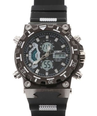 【HPFS】アナデジ アナログ&デジタル腕時計 HPFS628 メンズ腕時計 デジアナ
