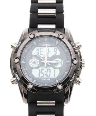 【HPFS】アナデジ アナログ&デジタル腕時計 HPFS618B メンズ腕時計 デジアナ