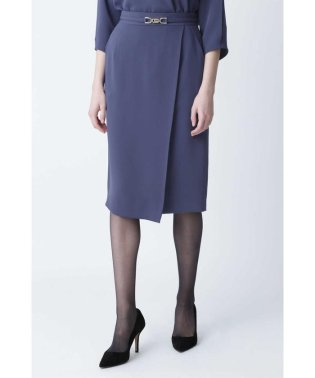 ◆ビットベルト付ラップスカート