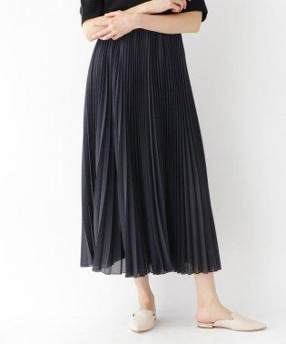 ギンガムチェックシアープリーツスカート