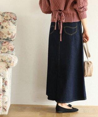 【Lee×ViS】デニムロングスカート