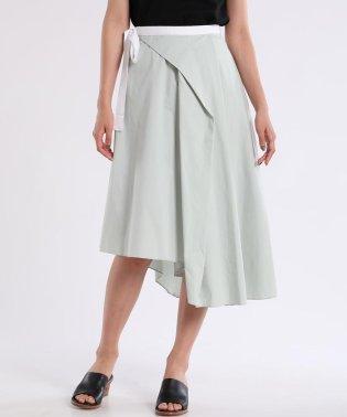 《Luftrobe》ウエストサイドリボンカジュアルスカート