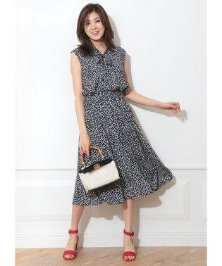 ◇【MAGASEEK/d fashion限定カラー】ボウタイブラウスセットアップ