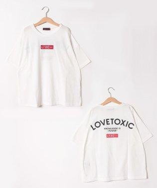 ボックスロゴビッグシルエットTシャツ