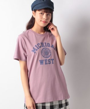 Lugnoncure COLLEGE TEE 【MICHIGAN】
