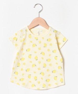 レモン総柄Tシャツ